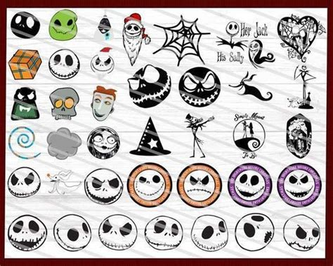 Nightmare Before Christmas Silhouette Svg  – 295+ SVG Cut File
