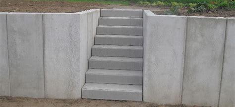 l steine oder betonmauer aussenanlagen freier bau
