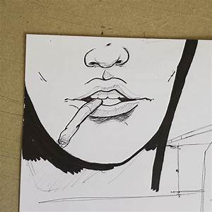 Lips With Smoke Coming Out Drawing | www.imgkid.com - The ...