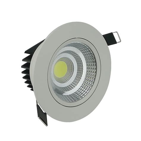 spot led encastrable plafond philips aliexpress buy newest dimmable led cob downlight 5w 10w 20w spot led light bright