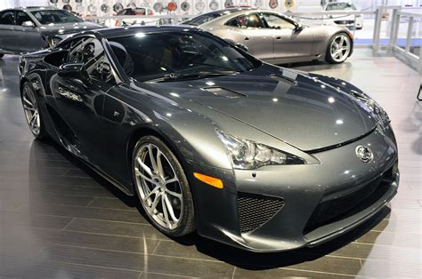 lexus gray lexus lfa at sema 6speedonline porsche forum and