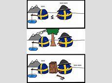 Polandball » Polandball Comics » Brief History of Sweden