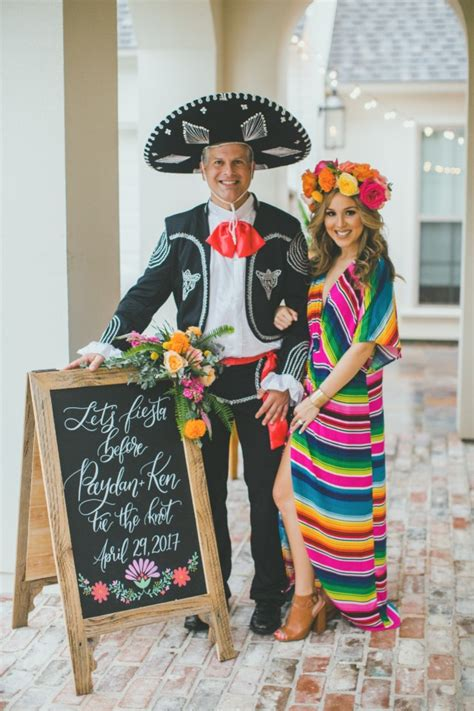 lets taco bout  married backyard engagement fiesta