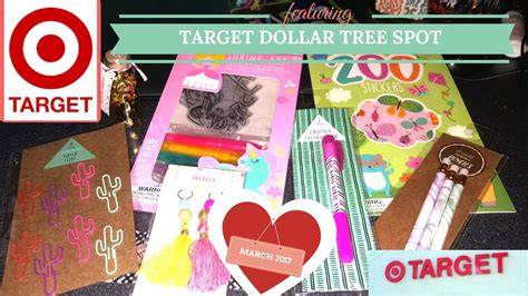 New Target Dollar Spot Haul March 2017 !! Spring & Easter