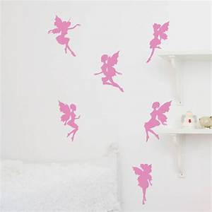magical fairies wall sticker by nutmeg With fairy wall decals