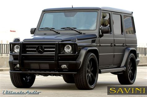 Wb 4 inch lift kit for mercedes g class w463 with steering. Matte Black Mercedes G Wagon | Pleasant to our website ...