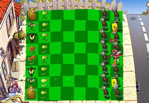 plants  zombies chess  zomplantjelo  deviantart