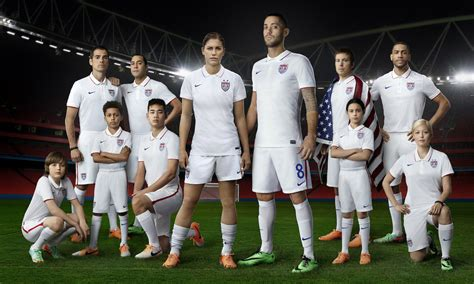 unveils  nike national team kits  world cup