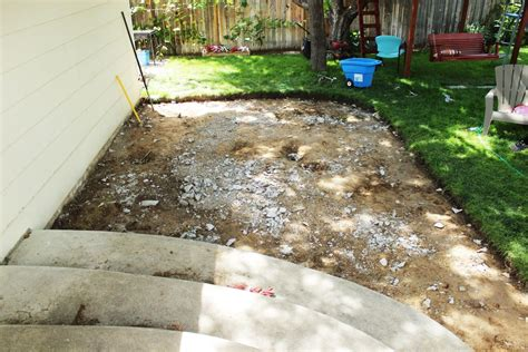 best way to remove concrete slabs on a patio interior