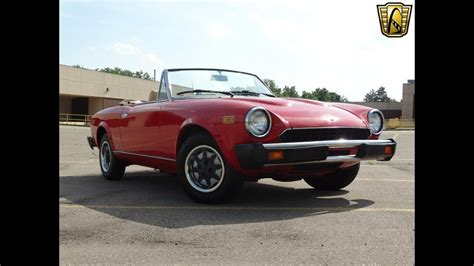 1980 Fiat Spider For Sale by 1980 Fiat Spider Stock 695 Det