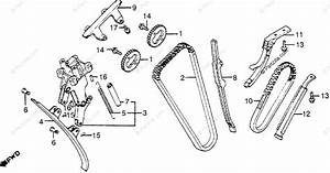 Honda Motorcycle 1983 Oem Parts Diagram For Cam Chain
