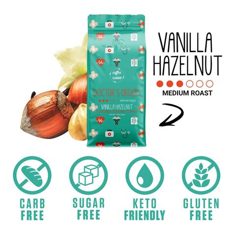 Some of the most sought after ones are the birthday cake, saturday chocolate donut, and this 2020, the coffee over cardio® forecast is that they will reach more than $5 million in sales. Doctor's Orders - Vanilla Hazelnut - Coffee Over Cardio®