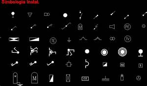 Electrical Domiciliary Symbols DWG Block for AutoCAD