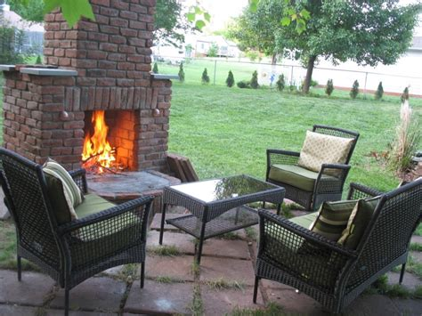 Outdoor Fireplace Traditional Patio Birmingham By