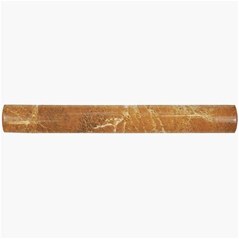 Home Depot Wall Tile Trim by Merola Tile Aroa Arena Beige 1 In X 8 In Ceramic Pencil