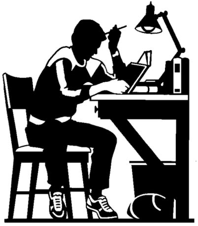 12343 college and career clipart black and white クリップアート 著作権フリーの画像 写真集