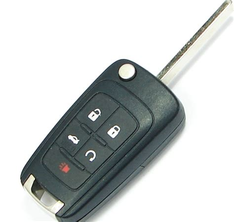 2015 Chevrolet Cruze Remote Keyless Entry Key With Engine
