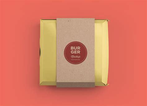 burger box mock up template free burger box packaging box mockup psd good mockups