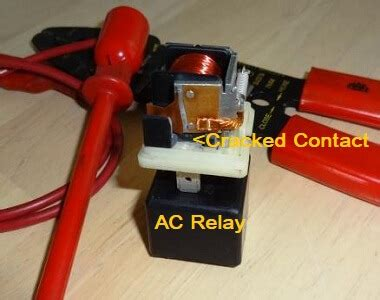Bad Car Relay Stops The Compressor From Working