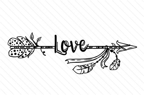 These will be on sale until the may 31, 2016 for just $2 for all 10 designs. Love Arrow SVG Cut file by Creative Fabrica Crafts ...
