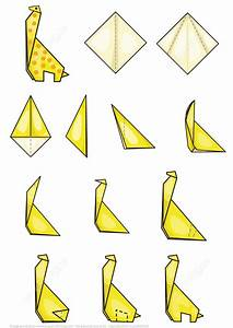 Origami Giraffe Instructions