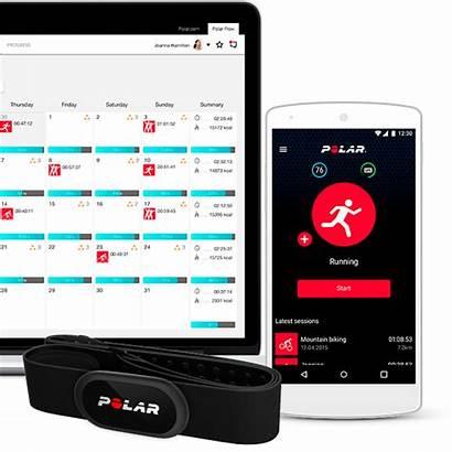 Polar Beat App Training Flow Android Fitness