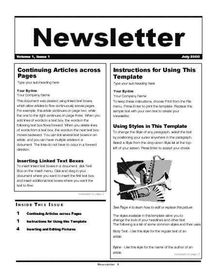 newsletter wizard