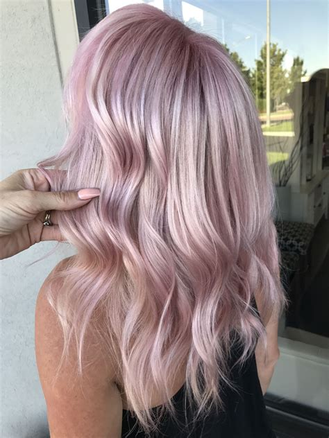 Pastel Pink Hair By Kathy Nunez Studio Be Pastel Pink
