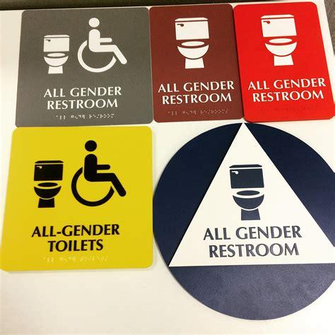 gender bathrooms  mandatory  west hollywood