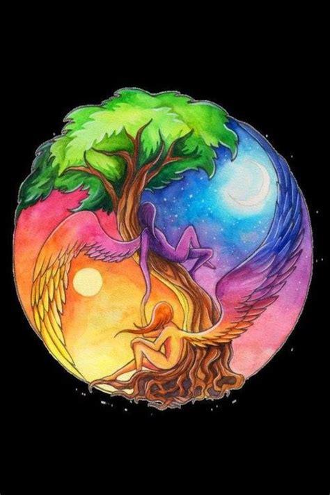 earth air water fire  yin    universe