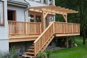 überdachte Terrasse Holz : gem tliche terrassen zur erholung vom steirischen holzbau meister wohnraum im freien ~ Whattoseeinmadrid.com Haus und Dekorationen