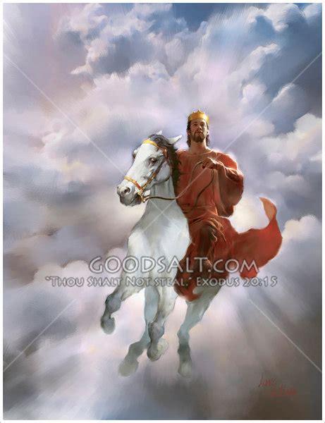 faithful true he called jesus horse coming down heaven robe goodsalt