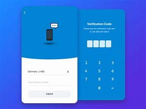 Verification Process Ui Ux Design By Maxromanchuk On Dribbble