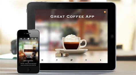 great coffee app adds prep video   caffeine fixes