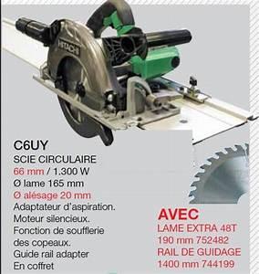Guide Pour Scie Circulaire : scie circulaire c6uy extra lame rail outils lagneau ~ Dailycaller-alerts.com Idées de Décoration