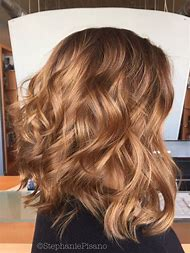 Blonde Hair Color with Caramel Highlights