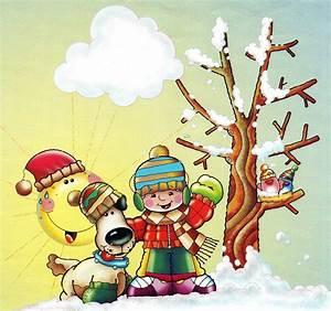 El invierno dibujos para colorear