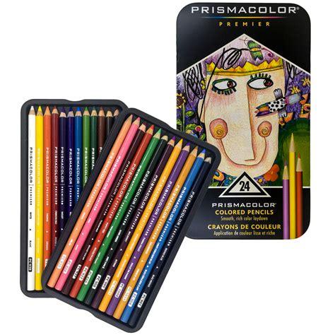 prismacolor colored pencil prismacolor 24 colored pencils premier soft color