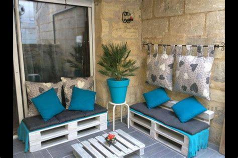 idee deco terrasse avec des palettes maison de reve