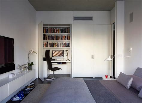 home office in bedroom 25 creative bedroom workspaces with style and practicality 4302