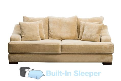 Cooper Microfiber Queen Sleeper Sofa At Gardner-white