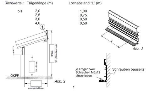 Terrassenüberdachung Genehmigung Nachbar by Terrassen 252 Berdachung Befestigung Hauswand Terminali