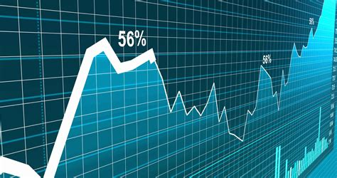 Stock market trading graphic background animation of chart ...