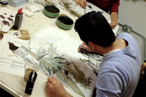 chinese brush painting class london  sunny art centre