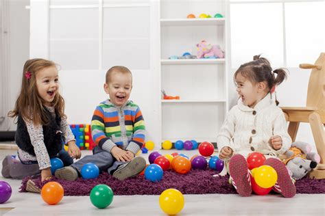Play And Learning For Children Aged 3-5 Years Old