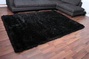 Hochflor Teppich Schwarz : luxury hochflor teppich schwarz ebay ~ Indierocktalk.com Haus und Dekorationen