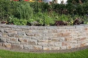 Steine Für Eine Mauer : natursteinmauern mein sch ner garten ~ Michelbontemps.com Haus und Dekorationen