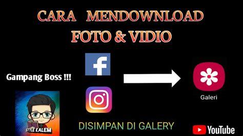 Berikut dua cara yang digunakan untuk mendownload video tersebut. CARA MENDOWNLOAD FOTO & VIDIO // DARI APLIKASI FACEBOOK ...