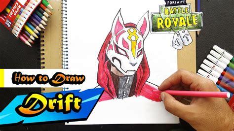draw drift  fortnite battle royal art
