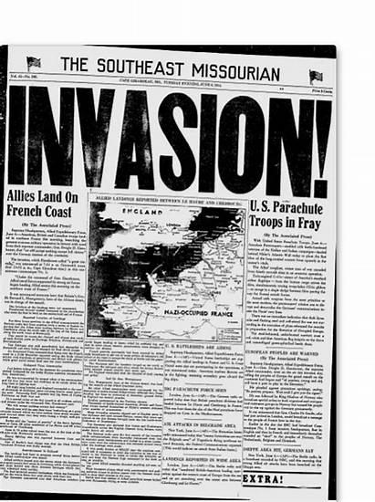 Newspaper Invasion Ago Years Headlines Normandy Buzzfeed
